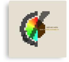 Year Of The Black Rainbow ultra retro Canvas Print
