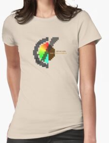 Year Of The Black Rainbow ultra retro Womens Fitted T-Shirt