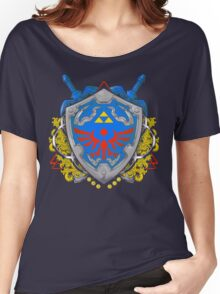 Hero's Shield Women's Relaxed Fit T-Shirt