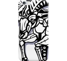 Aries star sign iPhone Case/Skin
