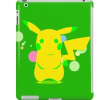 Pokemon - Green Pikachu iPad Case/Skin