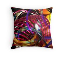 """apparitions"" Throw Pillow"