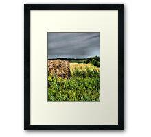 Painting the Prairies Framed Print