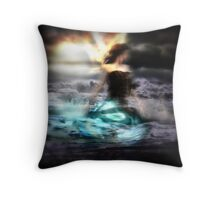 The North Wind Throw Pillow