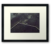 Spatial Reasoning Framed Print
