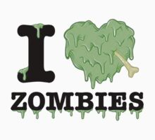 I Love Zombies by NoTeeAmy