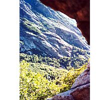 Living in a cave Photographic Print