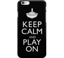 Keep Calm And Play On iPhone Case/Skin