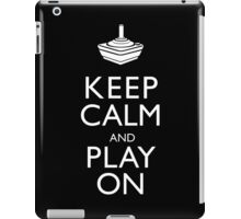 Keep Calm And Play On iPad Case/Skin