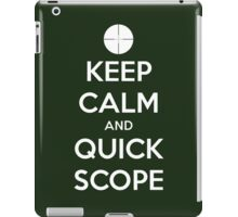Quick Scope iPad Case/Skin