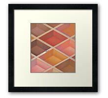 Ethnic Maze Framed Print