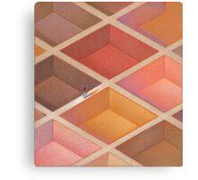 Ethnic Maze Canvas Print