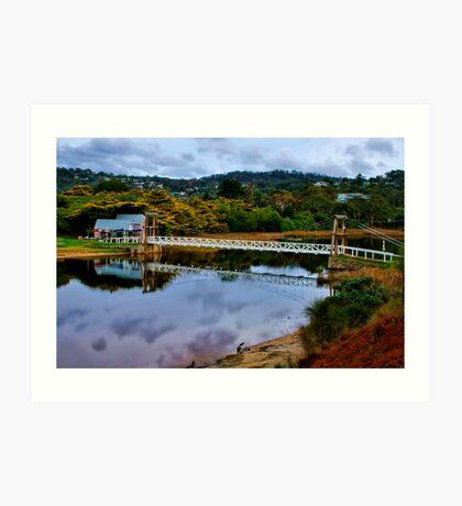 """The Erskine Estuary"" Art Print"
