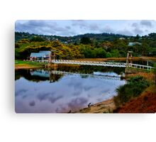 """The Erskine Estuary"" Canvas Print"