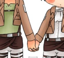 Holding Hands Sticker