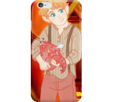 put in the the oven for Baby ( smaugbo ) and me iPhone Case/Skin
