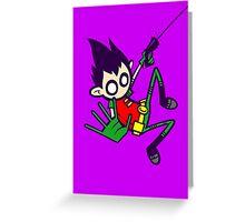 Boy Wonder Greeting Card