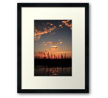 Big Sky Sunset Framed Print