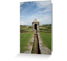 Charles fort turret Greeting Card