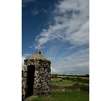 Charles fort turret Two Photographic Print