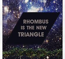 Hipster Rhombus by RiversWant