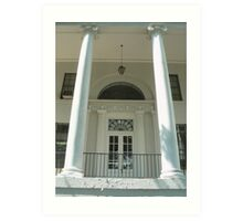 Front Entrance to Price Memorial Hall Art Print