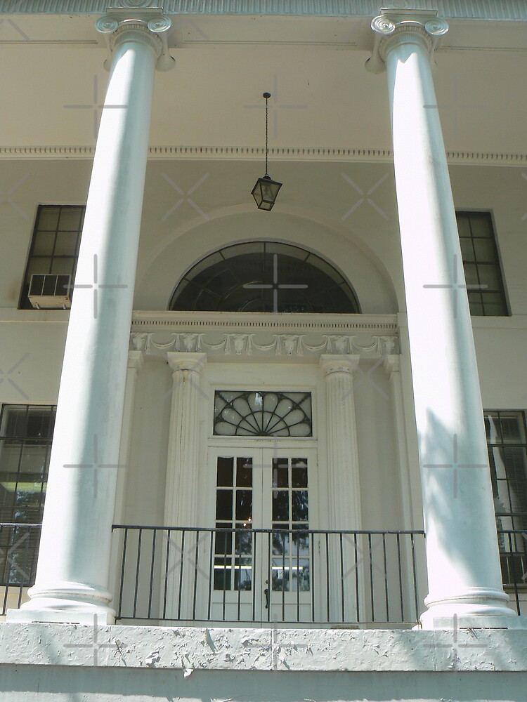Front Entrance to Price Memorial Hall by Sheila Simpson