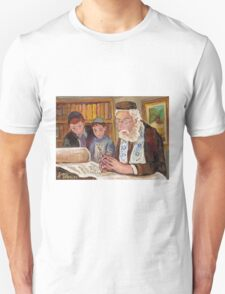 PAINTINGS OF JEWISH CULTURE THE TORAH LESSON  T-Shirt