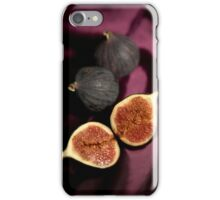 Still life with figs iPhone Case/Skin