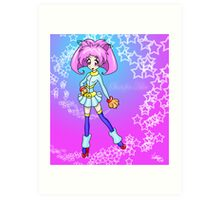 Stars for Aika: Super Aika! Art Print