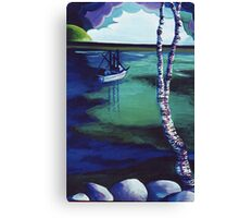 The Birch's View Canvas Print