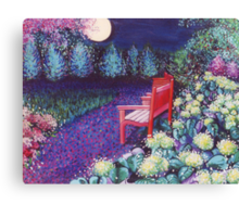 The Moon Seat Canvas Print