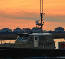 Pilot Vessel Sticker
