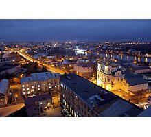 Night Vinnitsa 10 Photographic Print