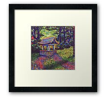 Purifying Well Framed Print