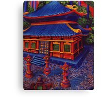The Temple Canvas Print