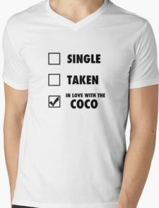 I'm in love with the coco Mens V-Neck T-Shirt
