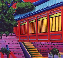 Back Door to the Temple by Jill Mattson