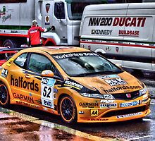Honda Civic Touring Car by davey lennox