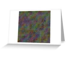 colored tiles Greeting Card