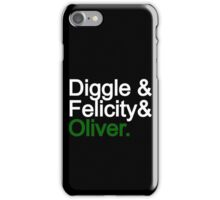 Team Arrow iPhone Case/Skin