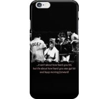Rocky Quote #1 iPhone Case/Skin