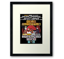 Johto Fighters Framed Print