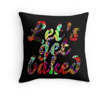 Let's get baked Throw Pillow