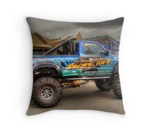 Offroad Racer Throw Pillow