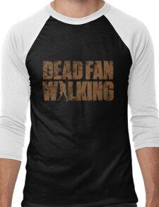 Dead Fan Walking Men's Baseball ¾ T-Shirt
