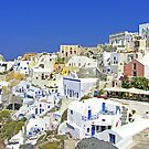 Oia Village by Tom Gomez