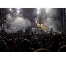 Passion Pit Concert Photographic Print