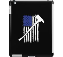 Cool 'Distressed American Flag and Fire Axe' T-shirts, Hoodies, Accessories and Gifts iPad Case/Skin
