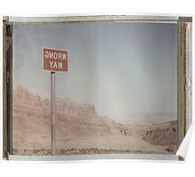 Wrong Way Nevada (8x10 Polaroid) Poster